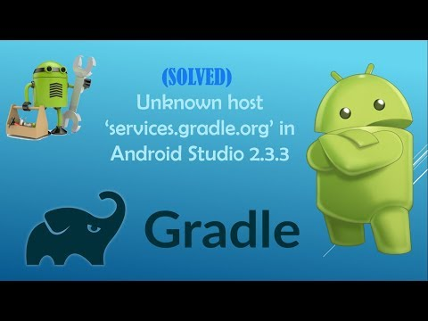 (SOLVED) Error: Unknown host 'services.gradle.org' in Android Studio 2.3.3