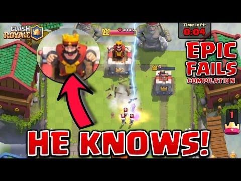 Clash Royale - *TOTAL FAILS!* dumbest spells EVER! (compilation)