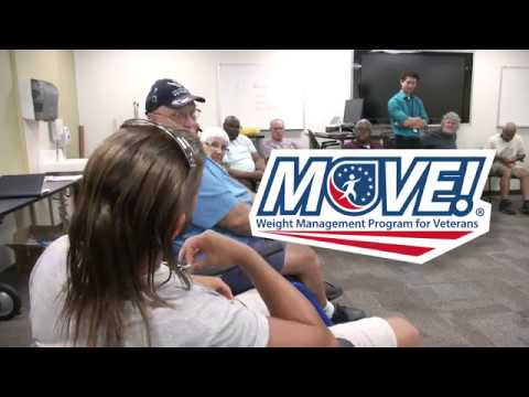 Encouraging and Supporting Veterans through Bay Pines VA Healthcare System's MOVE! Program