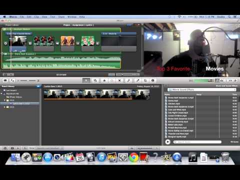 iMovie 9 Basics Tutorial #12 Adding Music and Sound Effects
