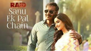 Sanu ek pal chain na aave Sajna tere bina raid movie song whatsapp status