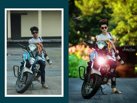 Background change Manipulation photo Edit Bangla Tutorial