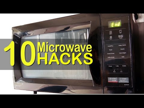 10 Amazing must know microwave hacks | Microwave tips | Microwave effortless cooking