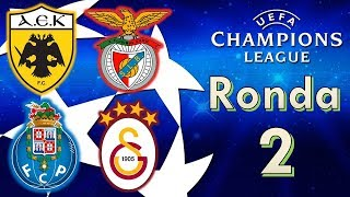 AEK vs BENFICA + PORTO vs GALATASARAY Champions League 2018/19