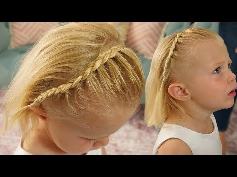 LACE DUTCH BRAID! CUTE BRAID FOR LITTLE GIRLS