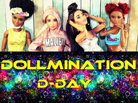 Barbie Stop-Motion Music Video DollmiNation Name Game FUN