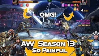 #AW S13 vs CTYTC - Warlock vs Aspect of War Havok - Marvel Contest Of Champions