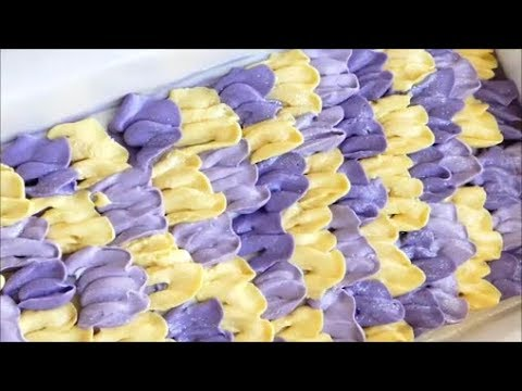 Making and Cutting Lemony Lavender Cold Process Soap