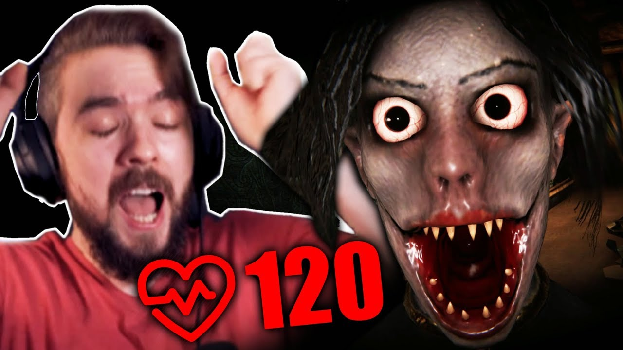 PLAYING SCARY GAMES WITH A HEART RATE MONITOR | Escape The Ayuwoki