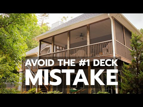Avoid the #1 Deck Mistake