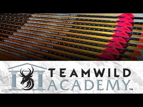 Build your Bow: Part 8 - How to build and fletch arrows