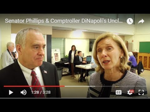 Senator Phillips & Comptroller DiNapoli's Unclaimed Funds Event
