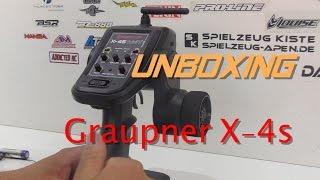 Unboxing Graupner X 4s HoTT/Hobao Spielzeug Apen Edition Full HD