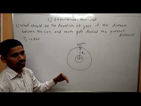 Gravitation Numerical 1 Maharashtra Board Physics Textbook Nemerical