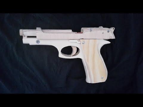 Tutorial! Blowback Beretta M9 - Free templates