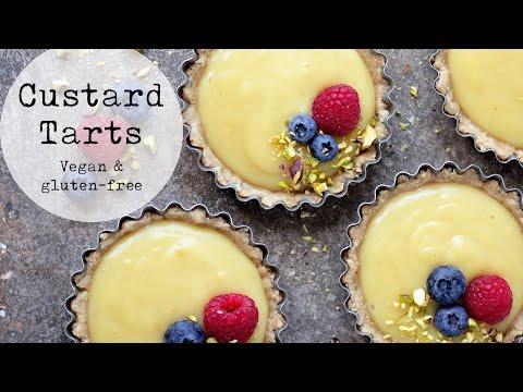 Vegan Custard Tarts (Gluten-free)