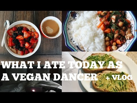 WHAT I ATE TODAY AS A VEGAN BALLET DANCER #22 + VLOG | REST DAY