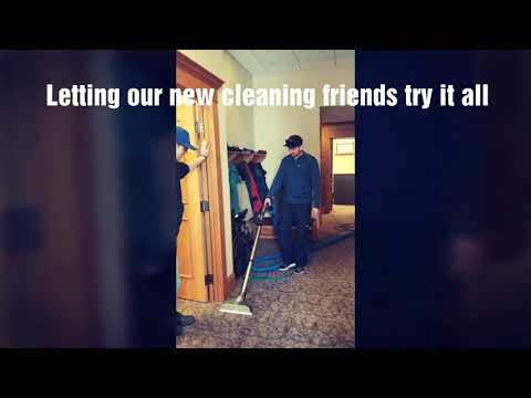 A day with the Saiger's and new cleaning friends