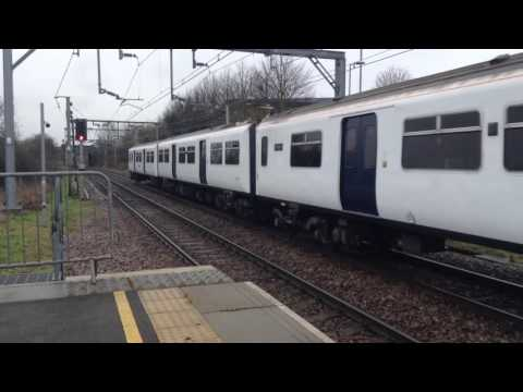 Trains at: Southend Airport, Shenfield - Southend Line, 4/2/17