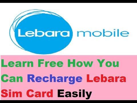 Lebara Sim Card -  How To Recharge