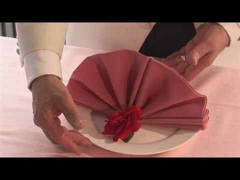 How To Make A Fan Napkin