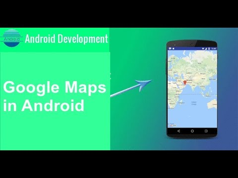 How to use the Google Maps in Android App for beginners YouTube