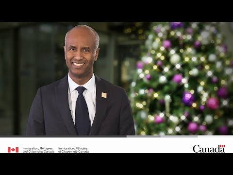 Christmas message from Minister Hussen