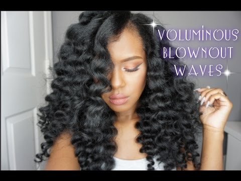 Voluminous Blownout Waves | Hair Tutorial
