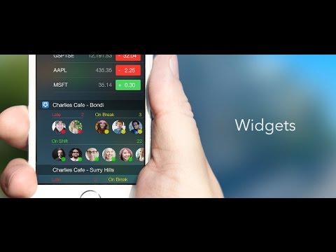 How to Use Widgets on iPhone/iPad/iPod