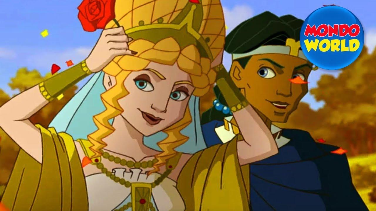 GLADIATORS cartoon for kids | series for children | episode 14 - THE TEMPLE OF ARTEMIS