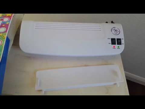 How to use a purple cows hot and cold laminator