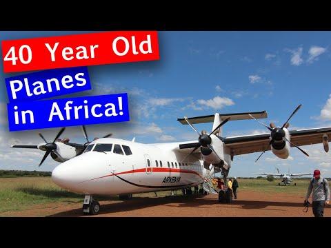 Flying with Air Kenya to Masai Mara