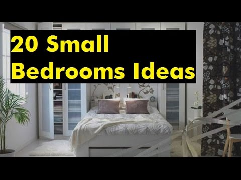 20 Small Bedrooms Ideas