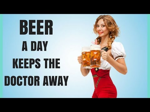 Advantages of Drinking Beer - Number 1 Remedy in the world - Health benefits of Drinking BEER