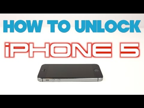 How to Unlock iPhone 5 for ANY CARRIER (Sprint, Verizon, AT&T, T-Mobile, Boost Mobile, Cricket, etc)