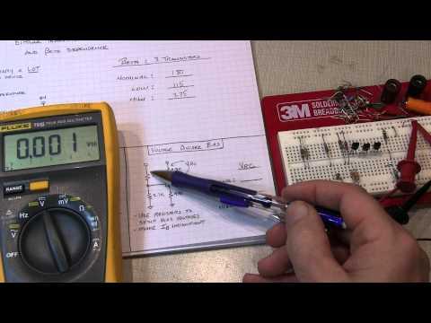 #185: Back to Basics: Bipolar Transistor bias circuits and Beta dependence