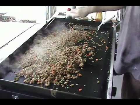 Blackstone Griddle Teppanyaki Egg Fried Rice