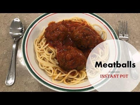 Meatballs (4 Ingredients)- InstantPot