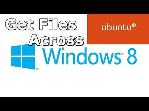 How to Get Files Across a Dual Boot - Windows and Ubuntu