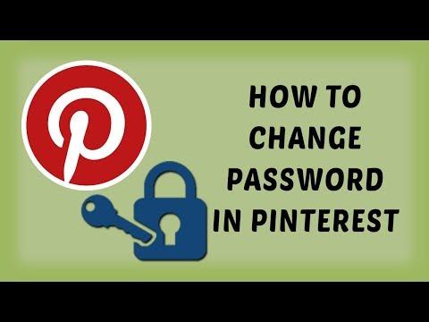 How To Change Password In Pinterest   Pinterest Tutorials In Hindi