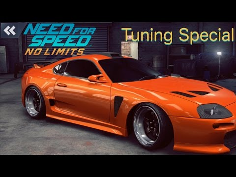 Need For Speed No Limits: Toyota Supra  (Customization + MAXXED OUT)