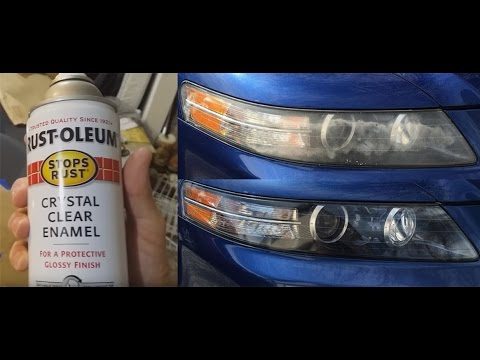 Fix your headlights for less than $10