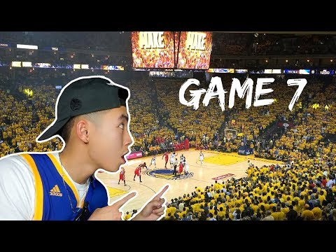 WARRIORS GAME 7 @ ORACLE ARENA (TURN UP AFTER GAME)