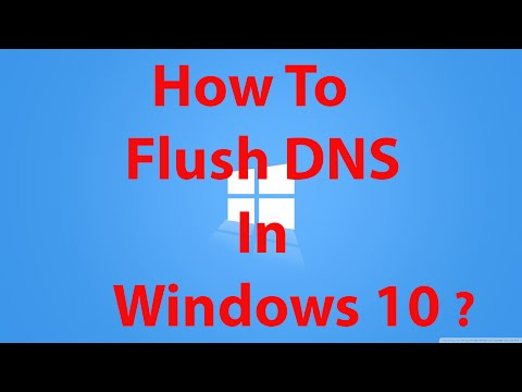 How To Flush DNS in Windows 10 ?
