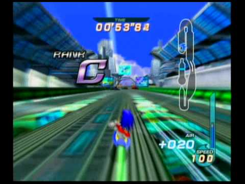 Sonic Riders - Missions - Metal City