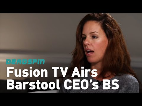 Fusion TV is Airing Barstool Sports CEO's BS