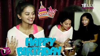 Helly Shah Celebrates Her Birthday With Telly Reporter | Exclusive