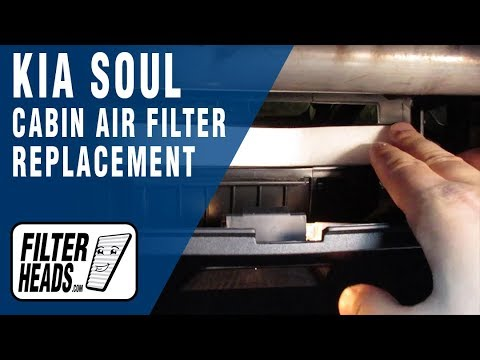 How to Replace Cabin Air Filter 2016 Kia Soul