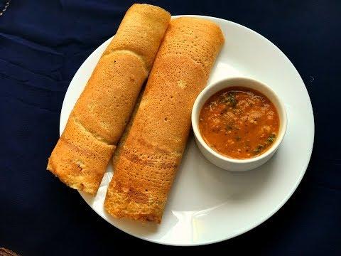 Instant Quinoa Dosa & Tomato Chutney (Diabetic friendly) | Protein packed Quinoa Oats & Lentil Dosa