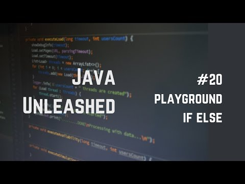 #20 Java If Else Example
